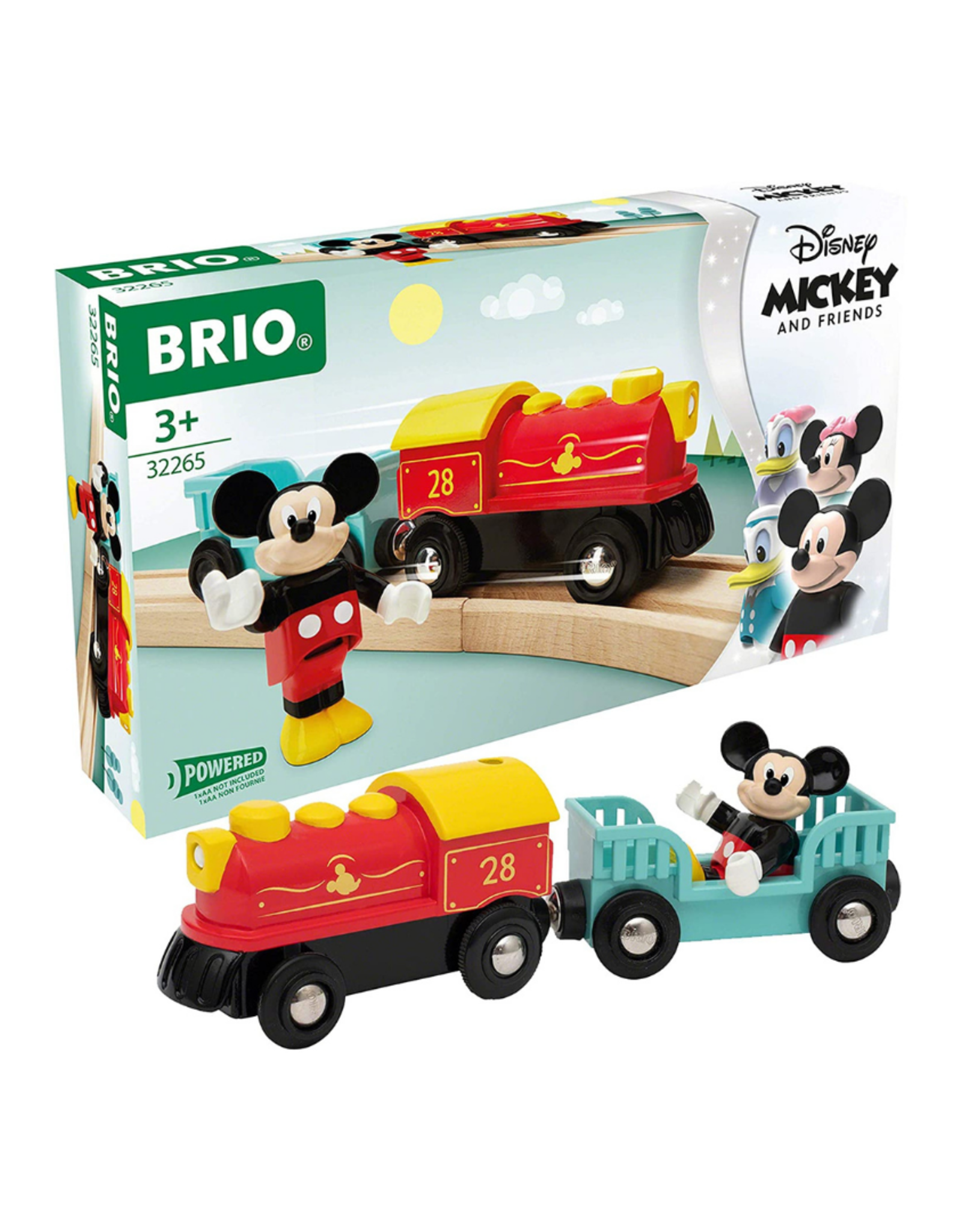 Brio Brio - Mickey Mouse Train Set