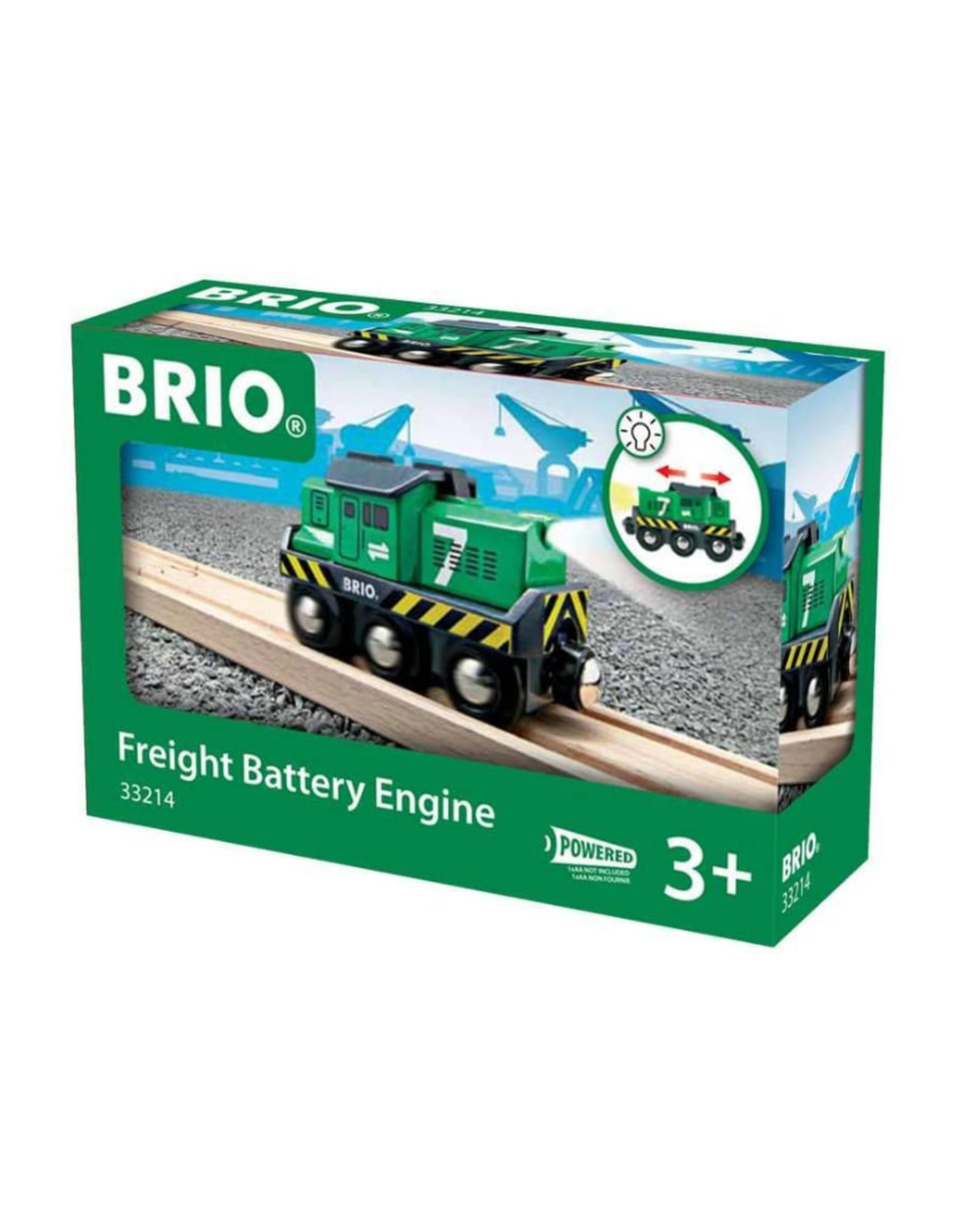 Brio Brio - Freight Battery Engine