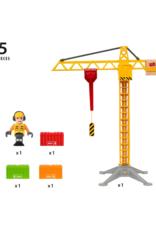 Brio Brio - Light Up Construction Crane