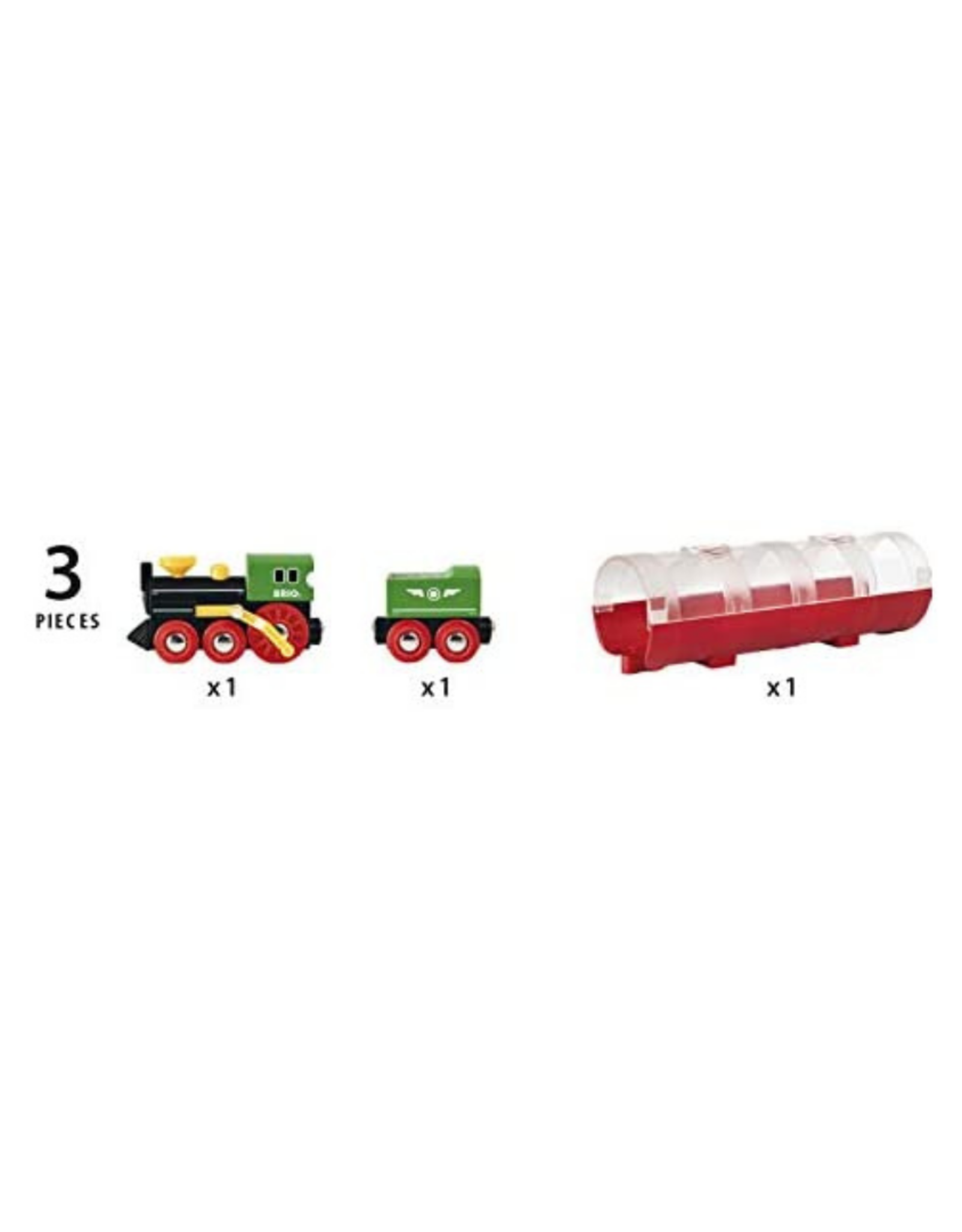 Brio Brio - Steam Train & Tunnel