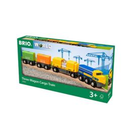 Brio Brio - Three Wagon Cargo Train