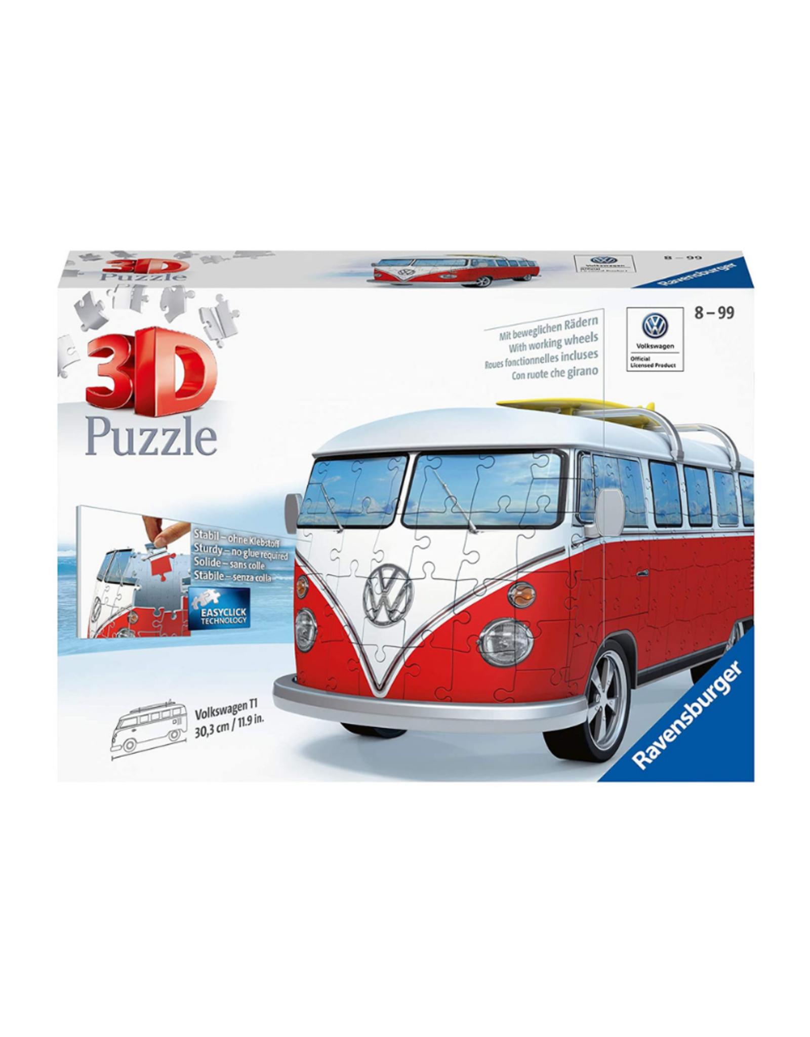 Ravensburger VW Bus T1 Campervan 162pc 3D Puzzle