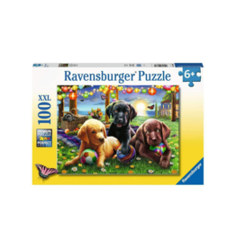 Ravensburger Puppy Picnic 100pc Puzzle