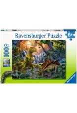 Ravensburger Prehistoric Oasis 100pc Puzzle