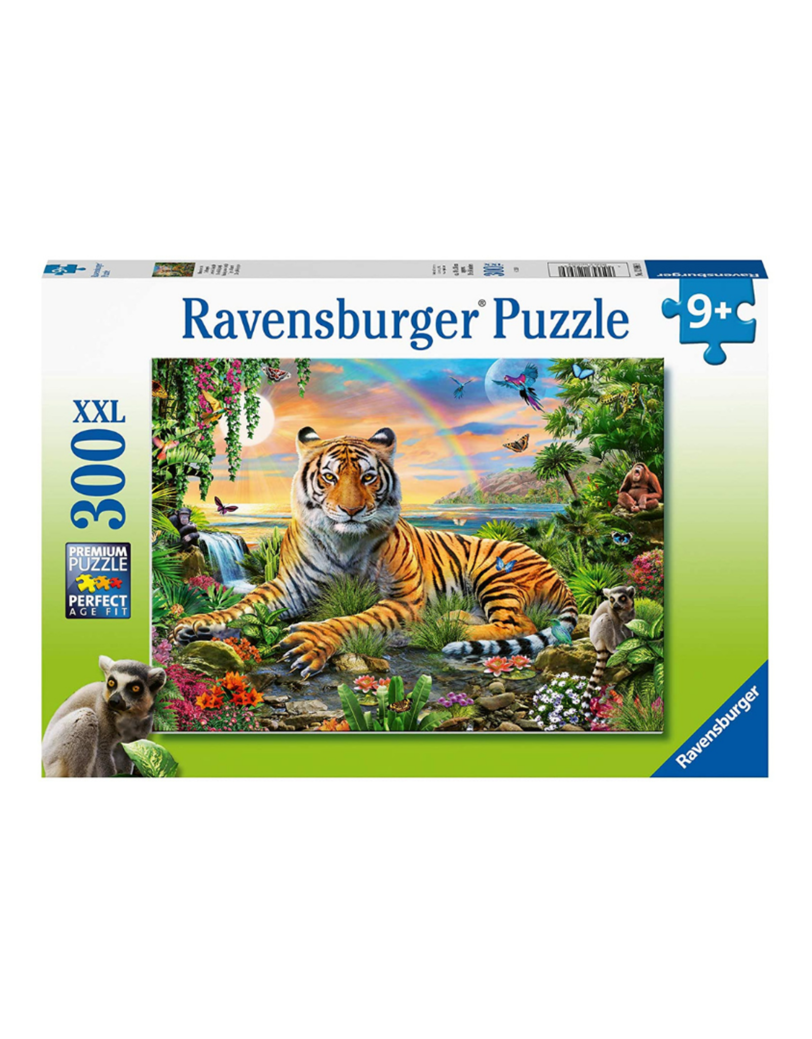 Ravensburger Jungle Tiger 300pc Puzzle