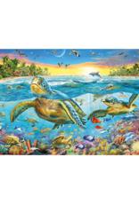 Ravensburger Swim with Sea Turtles 100pc Puzzle
