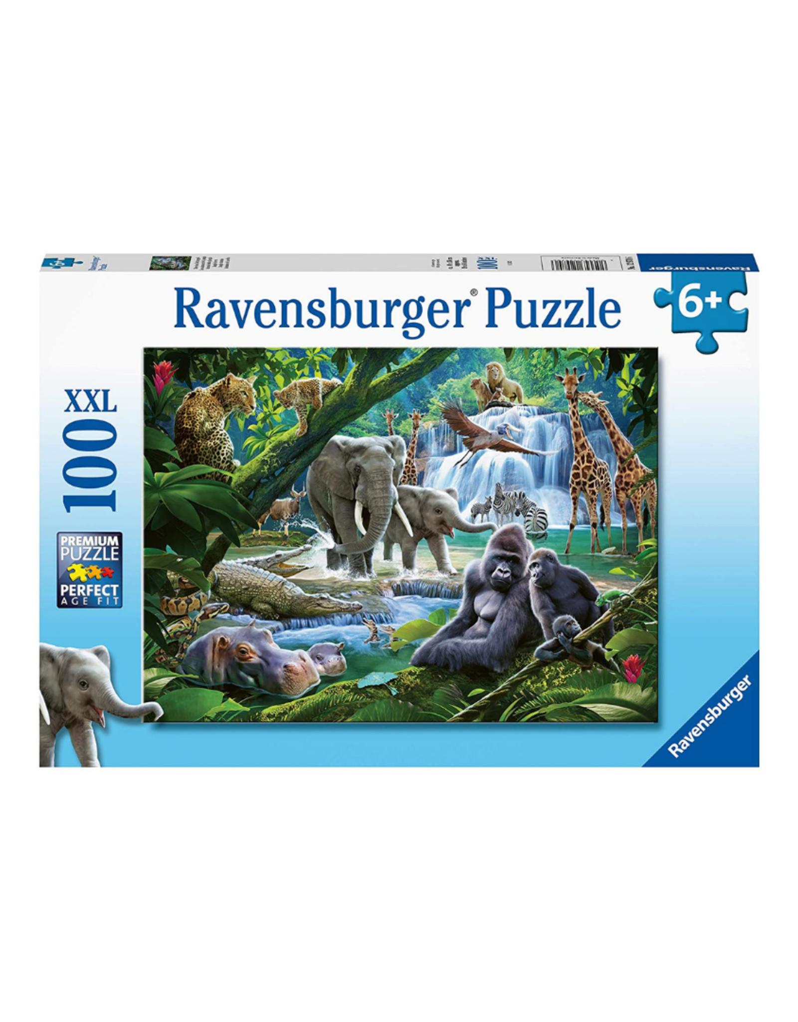 Ravensburger Jungle Animals 100pc Puzzle