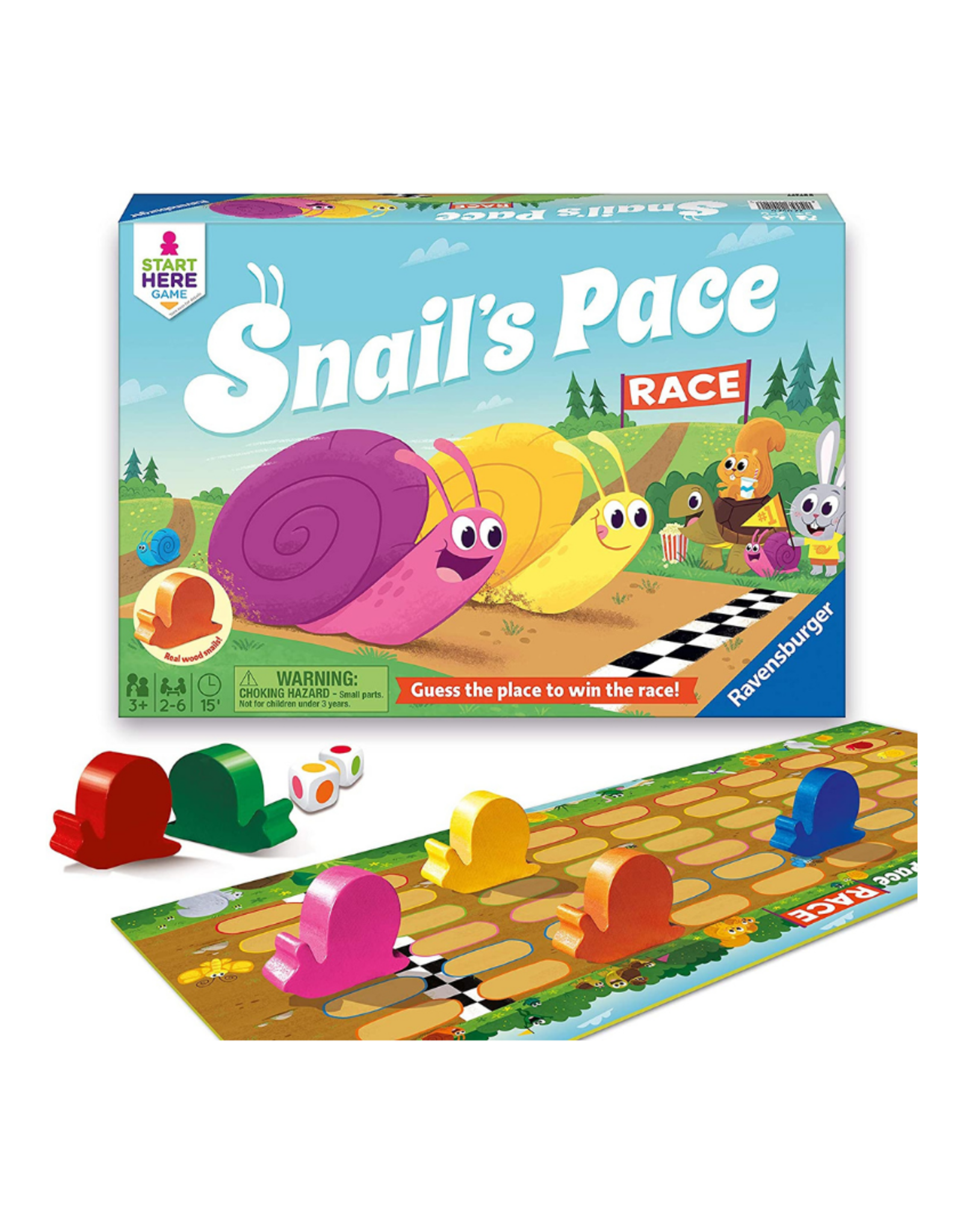 Ravensburger Snail's Pace Race Game