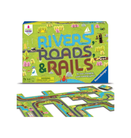 Ravensburger Rivers, Roads, & Rails Game