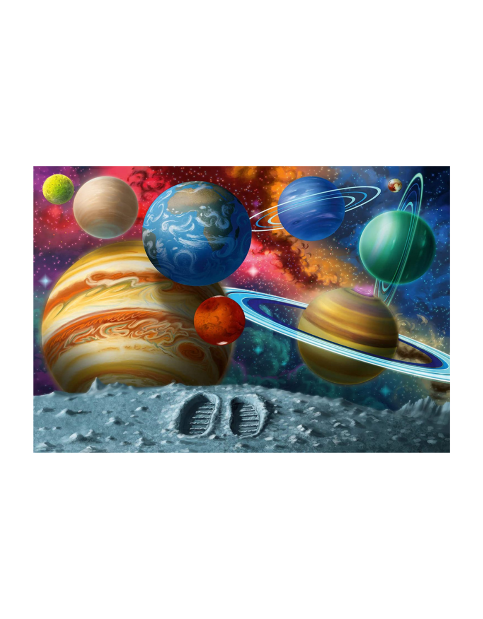 Ravensburger Stepping Into Space 24pc Floor Puzzle