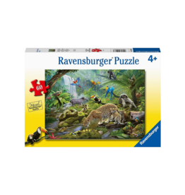 Ravensburger Rainforest Animals 60pc Puzzle