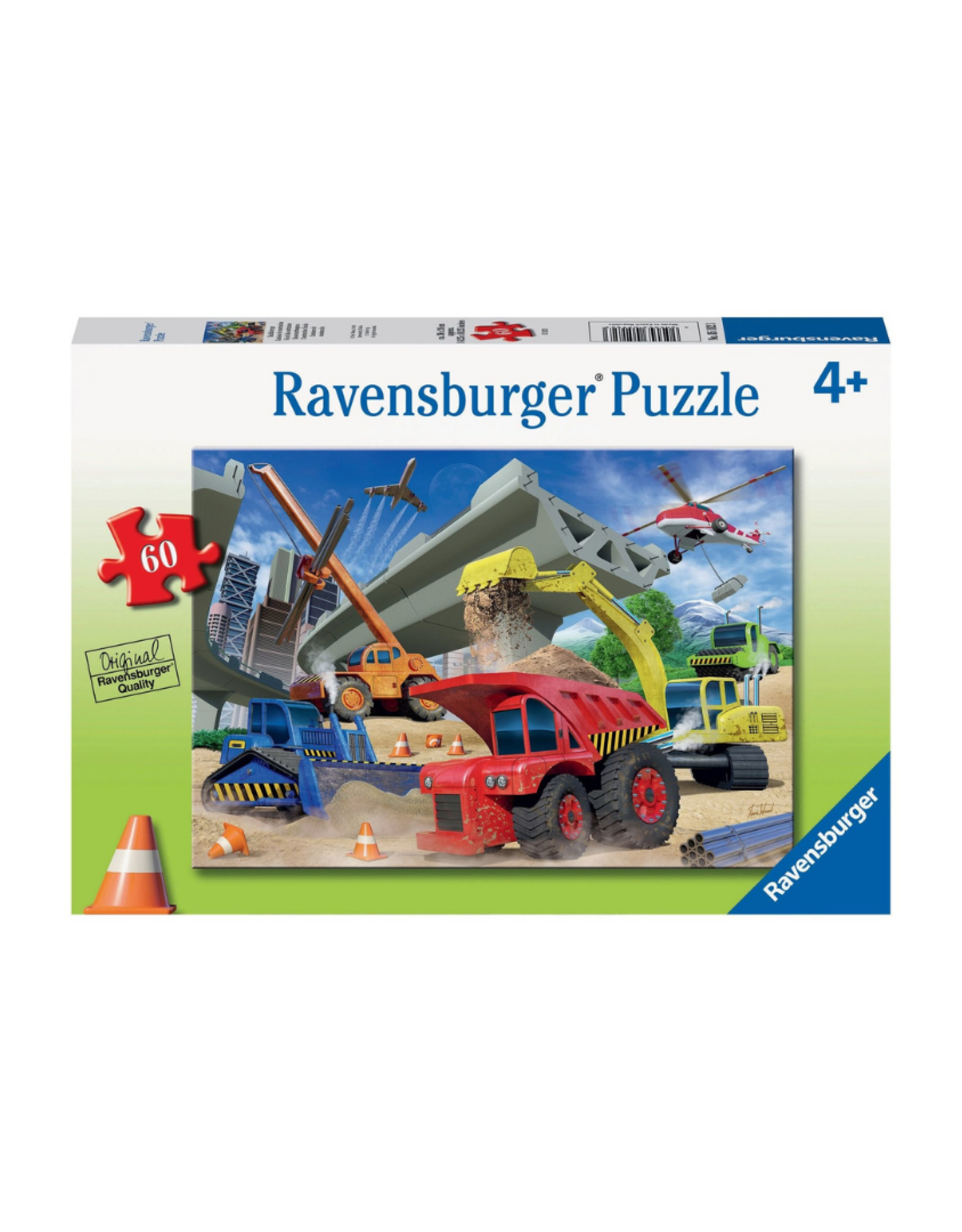 Ravensburger Construction Trucks 60pc Puzzle