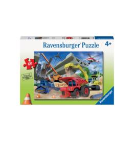 Ravensburger Construction Trucks 60pc Puzzle