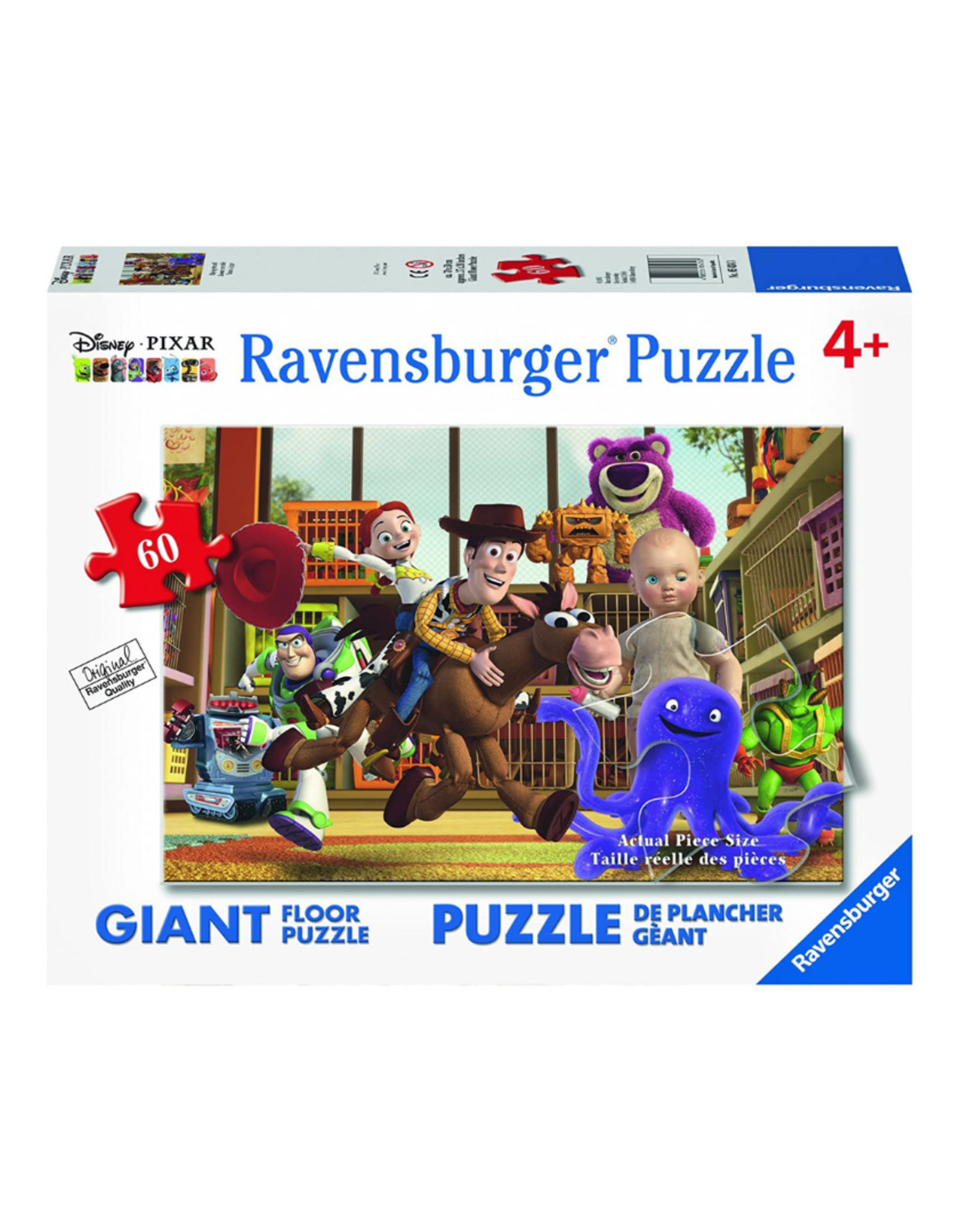 Ravensburger Playing Around 60pc Floor Puzzle