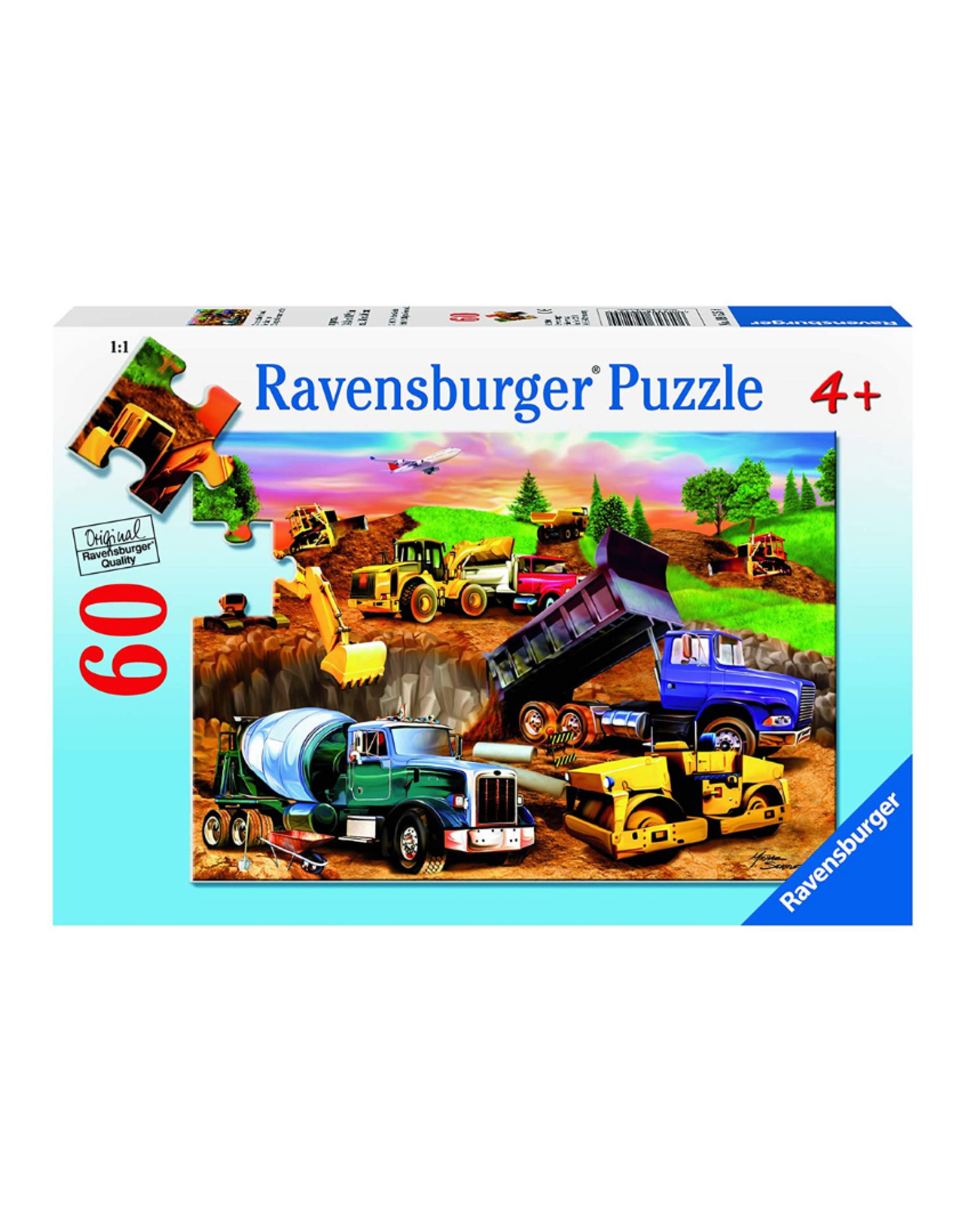Ravensburger Construction Crowd 60pc Puzzle