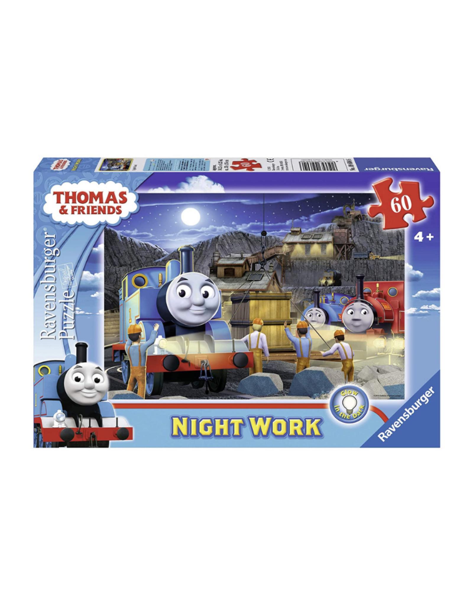 Ravensburger Night Work 60pc Glow in Dark Puzzle