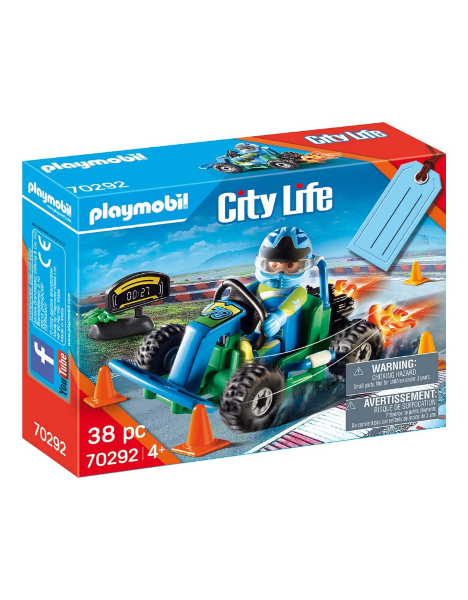Playmobil PM - Go-Kart Racer Gift Set