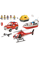 Playmobil PM - Fire Rescue Mission