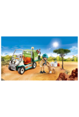 Playmobil PM - Zoo Vet with Medical Cart