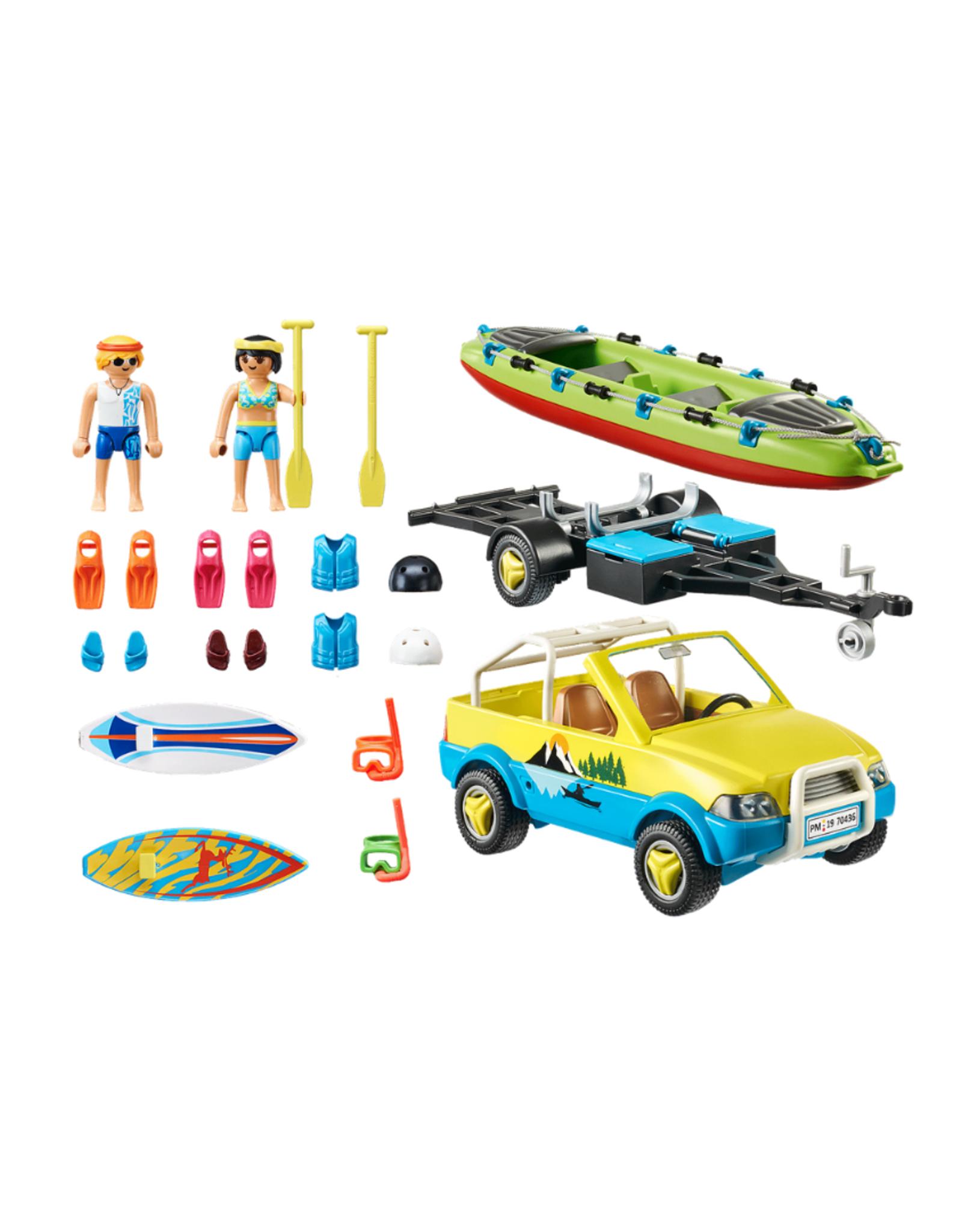 Playmobil PM - Beach Car with Canoe