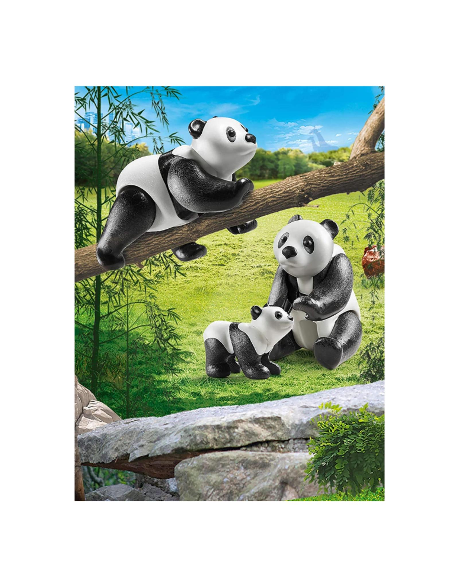 Playmobil PM - Pandas with Cub