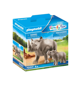 Playmobil PM - Rhino with Calf