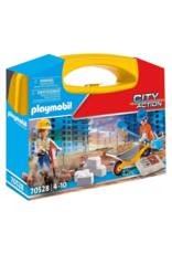 Playmobil PM - Construction Site Carry Case