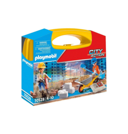Playmobil PM - Construction Site Carry Case