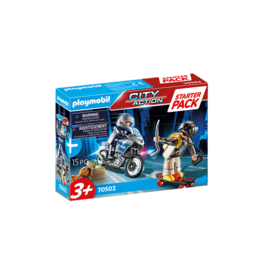 Playmobil PM - Starter Pack Police Chase