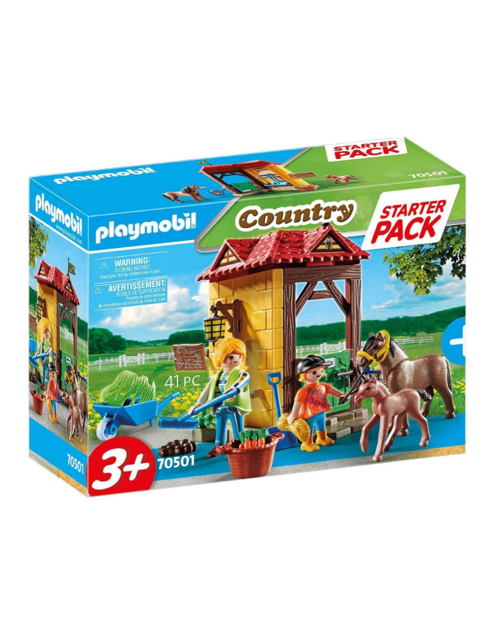 Playmobil PM - Starter Pack Horse Farm