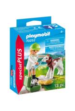 Playmobil PM - Vet with Calf