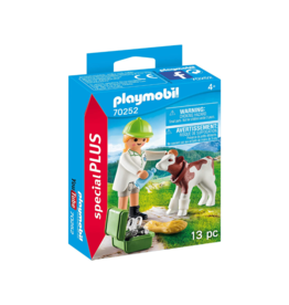 Playmobil PM - Vet with Calf