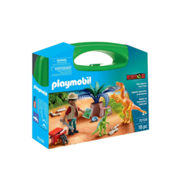 Playmobil PM - Dino Explorer Carry Case