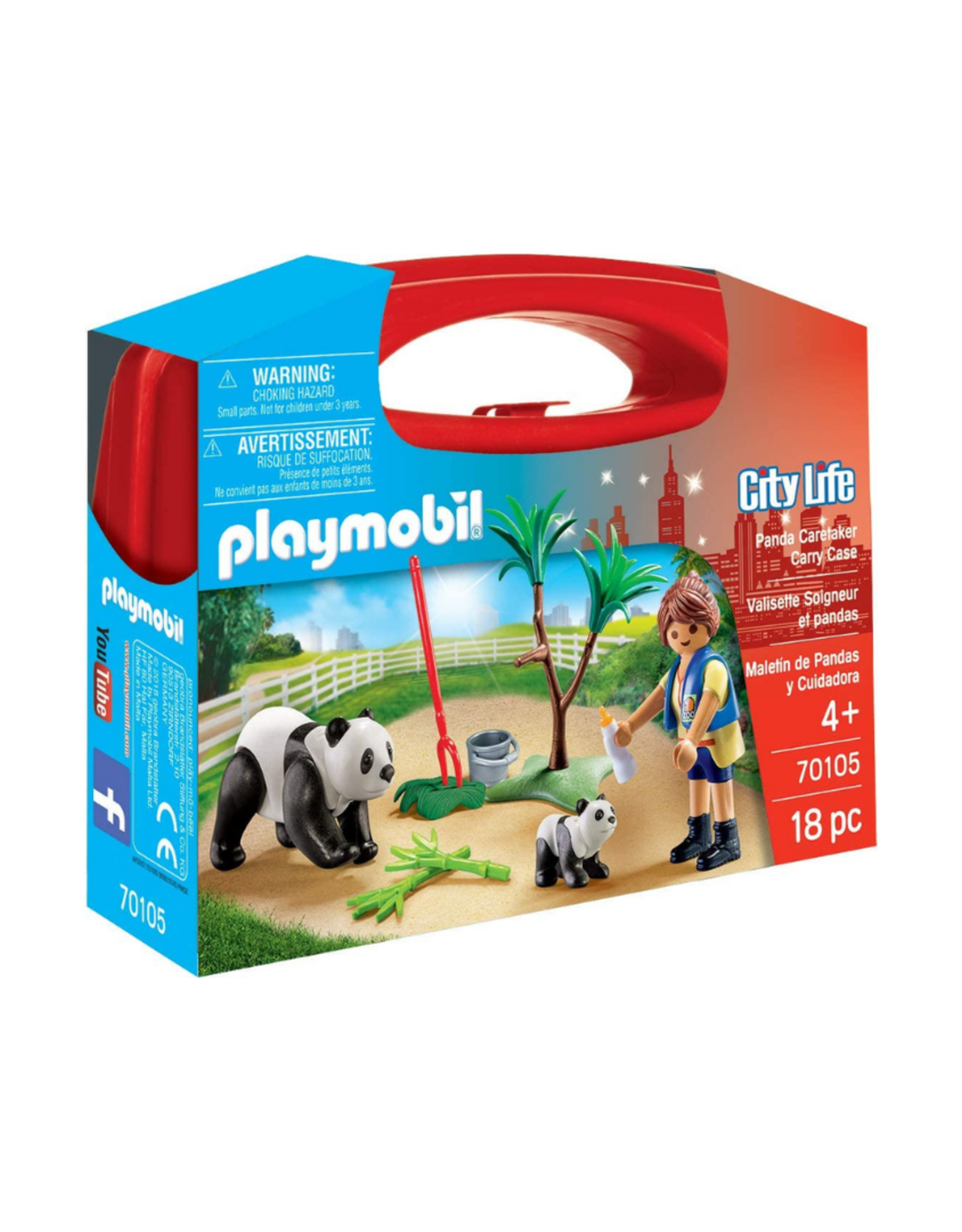 Playmobil PM - Panda Caretaker Carry Case