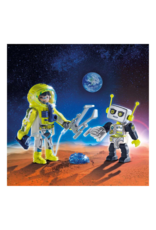Playmobil PM - Astronaut and Robot Duo Pack