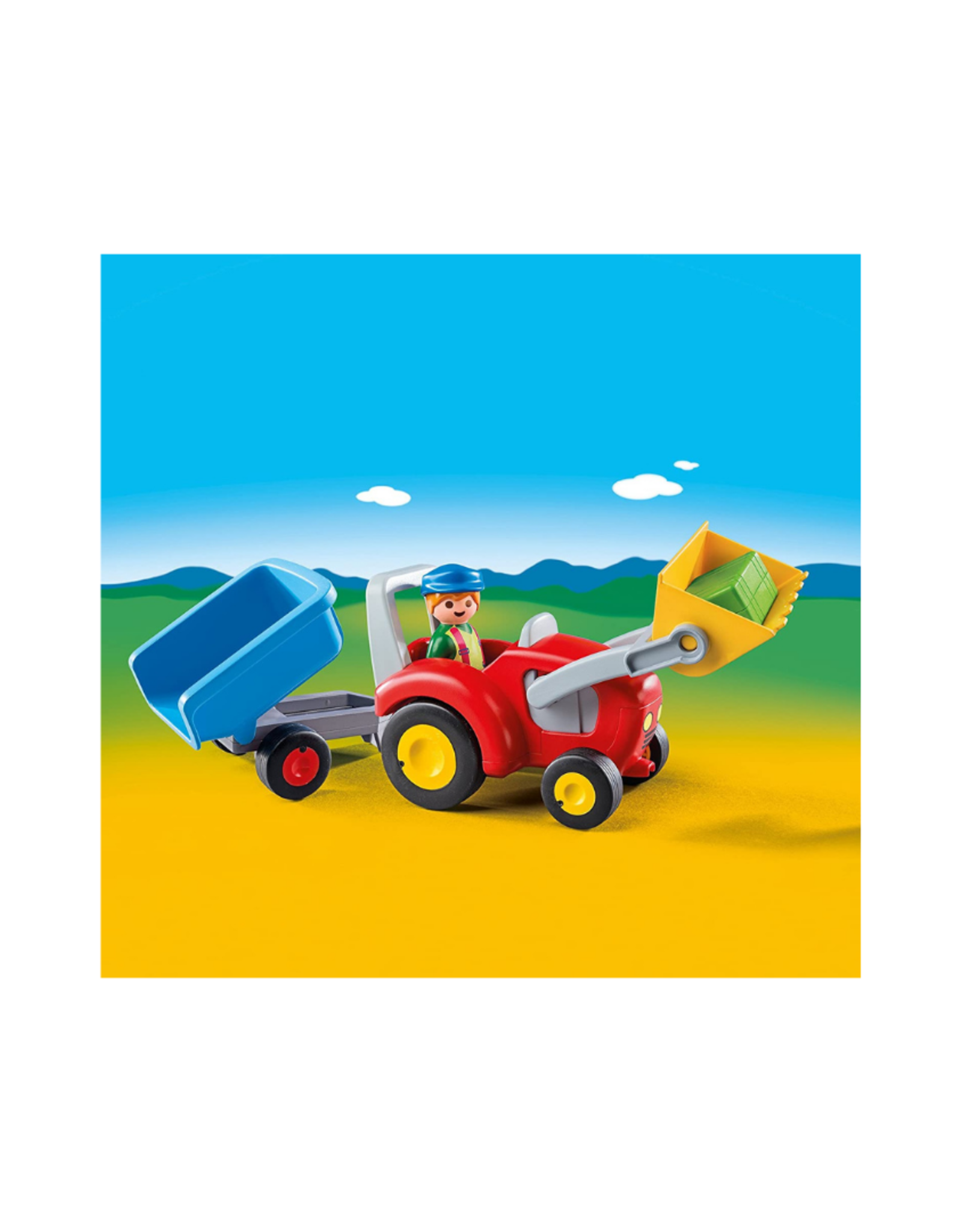 Playmobil PM - Tractor with Trailer