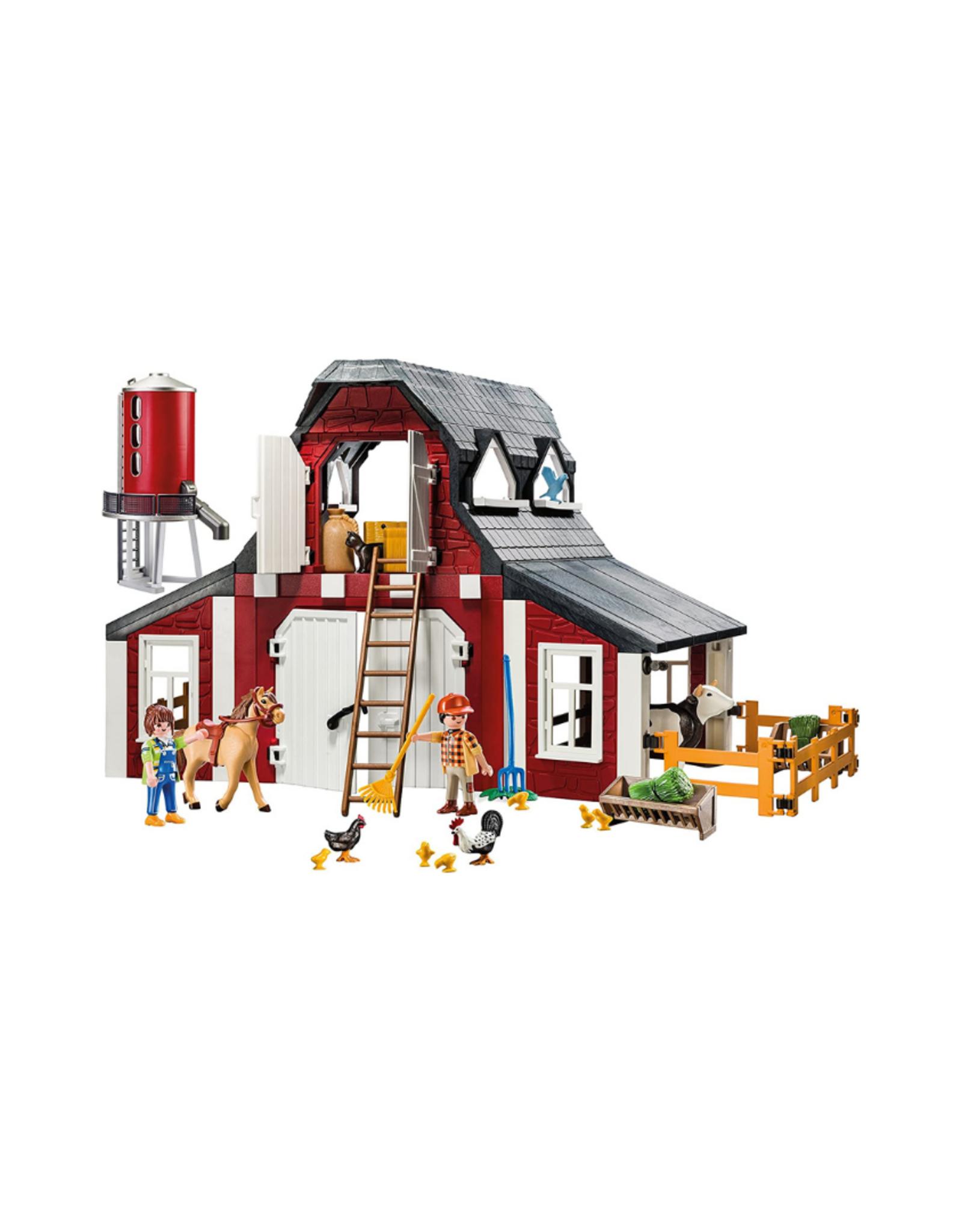 Playmobil PM - Barn with Silo