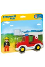 Playmobil PM - Ladder Unit Fire Truck