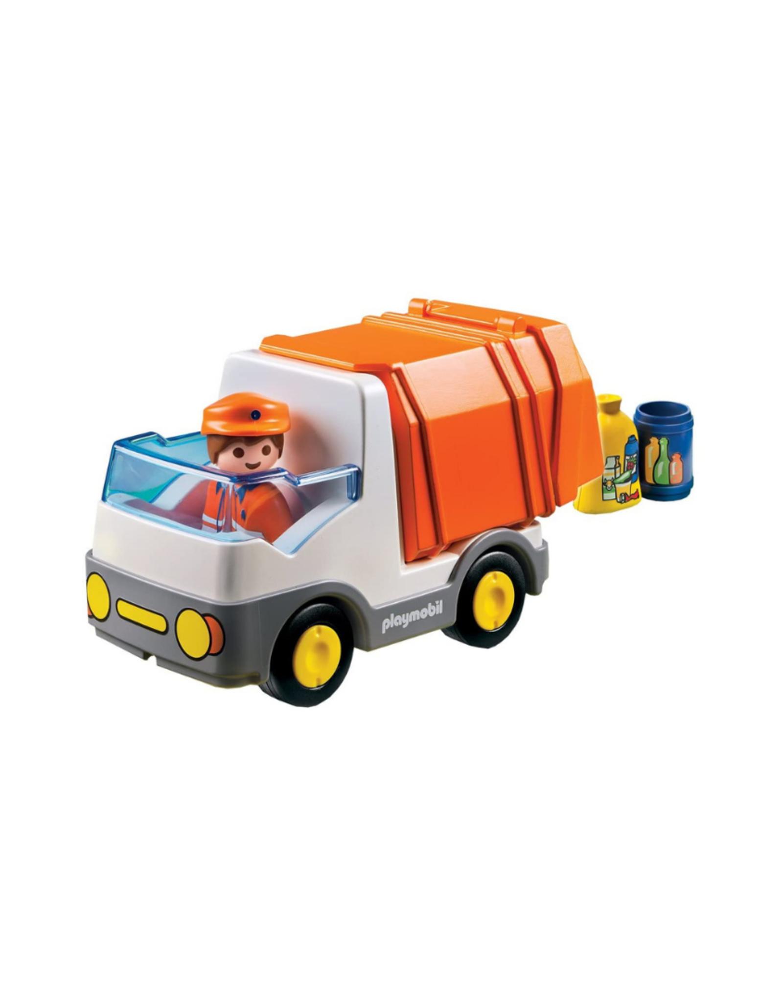 Playmobil PM - 1.2.3 Recycling Truck