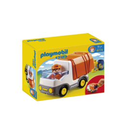 Playmobil PM - 1.2.3 Recycling Truck