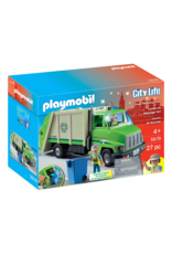 Playmobil PM - Green Recycling Truck