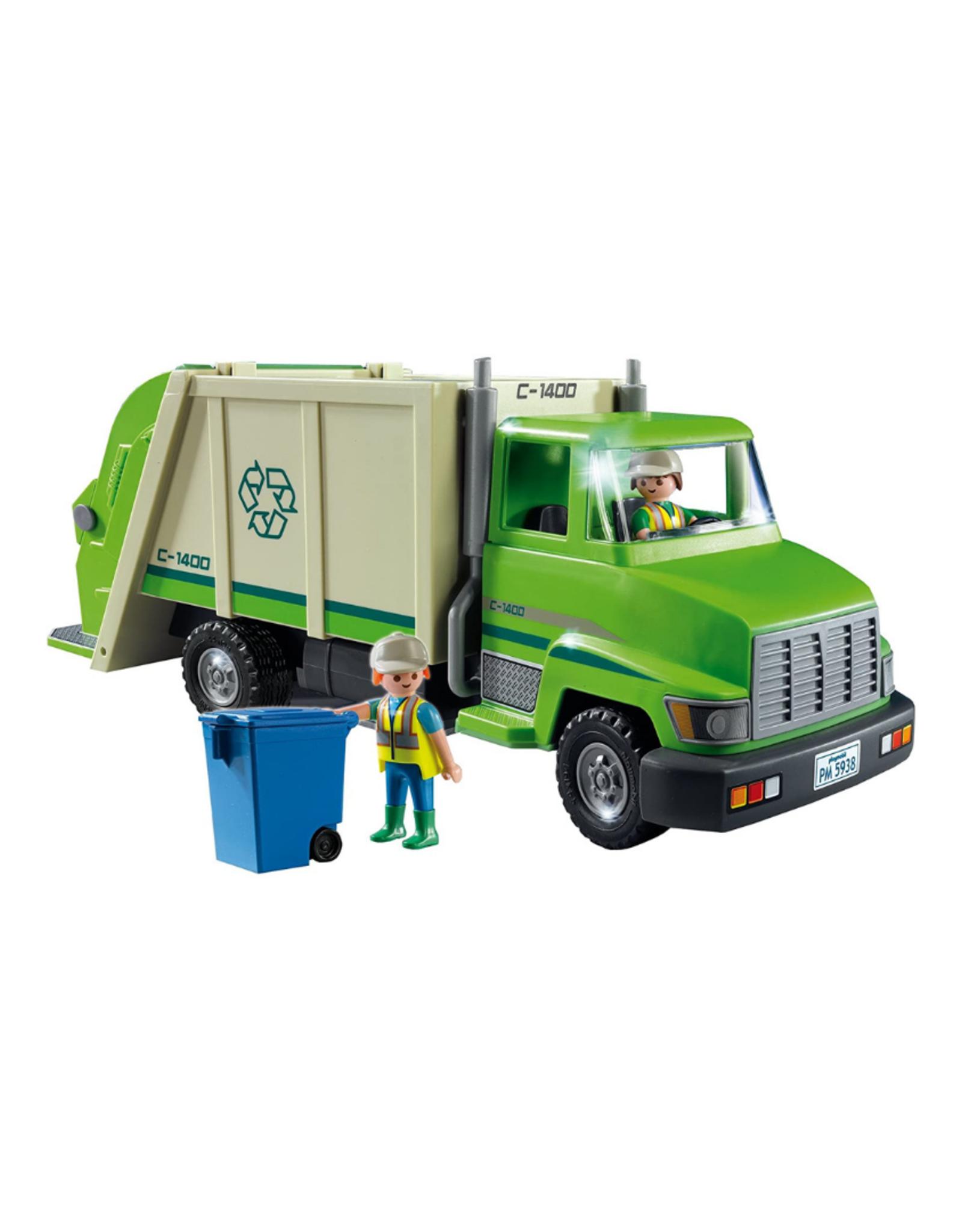Playmobil PM - Green Recycling Truck