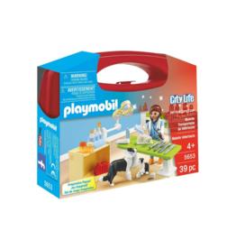 Playmobil PM - Vet Visit Carry Case