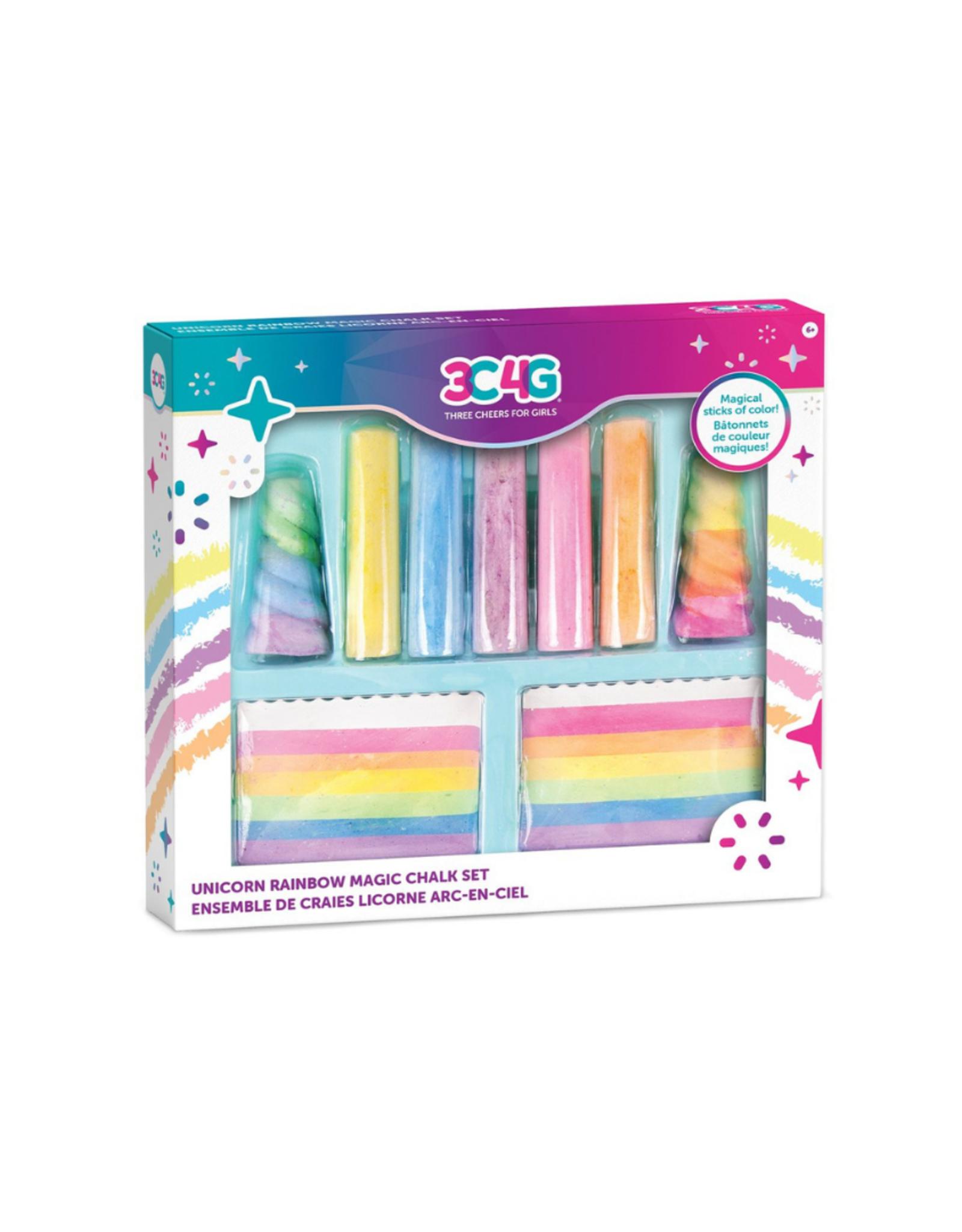 3C4G Rainbow Bright Chalk Set