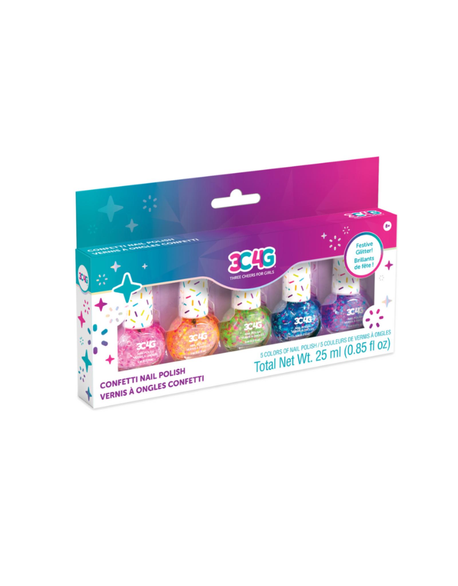 3C4G Confetti Nail Polish