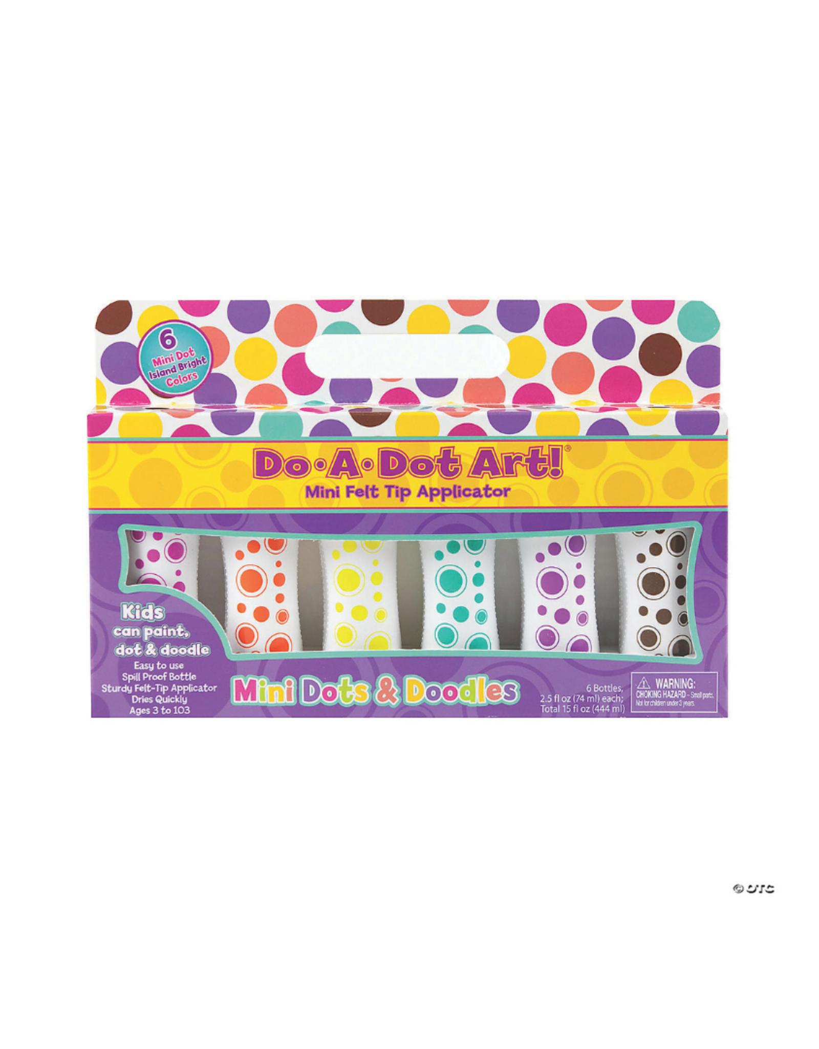 Do A Dot Art Do-A-Dot Markers 6pc - Mini Dots Island Brights
