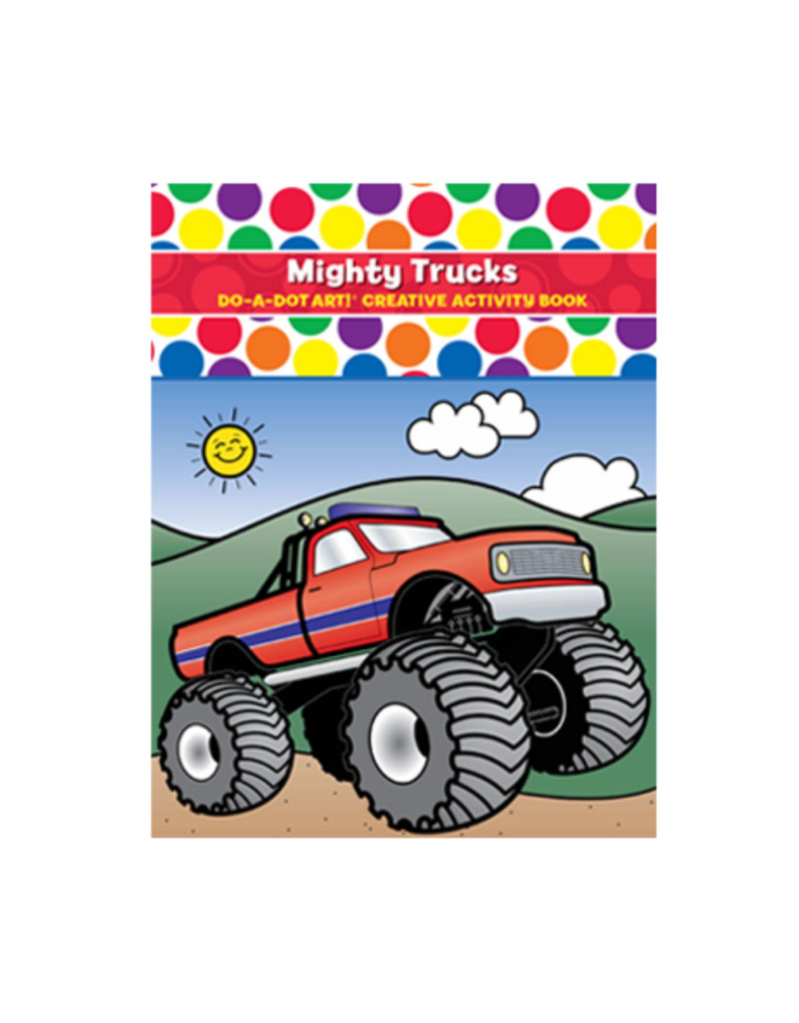 Do A Dot Art Do-A-Dot Book - Mighty Trucks!