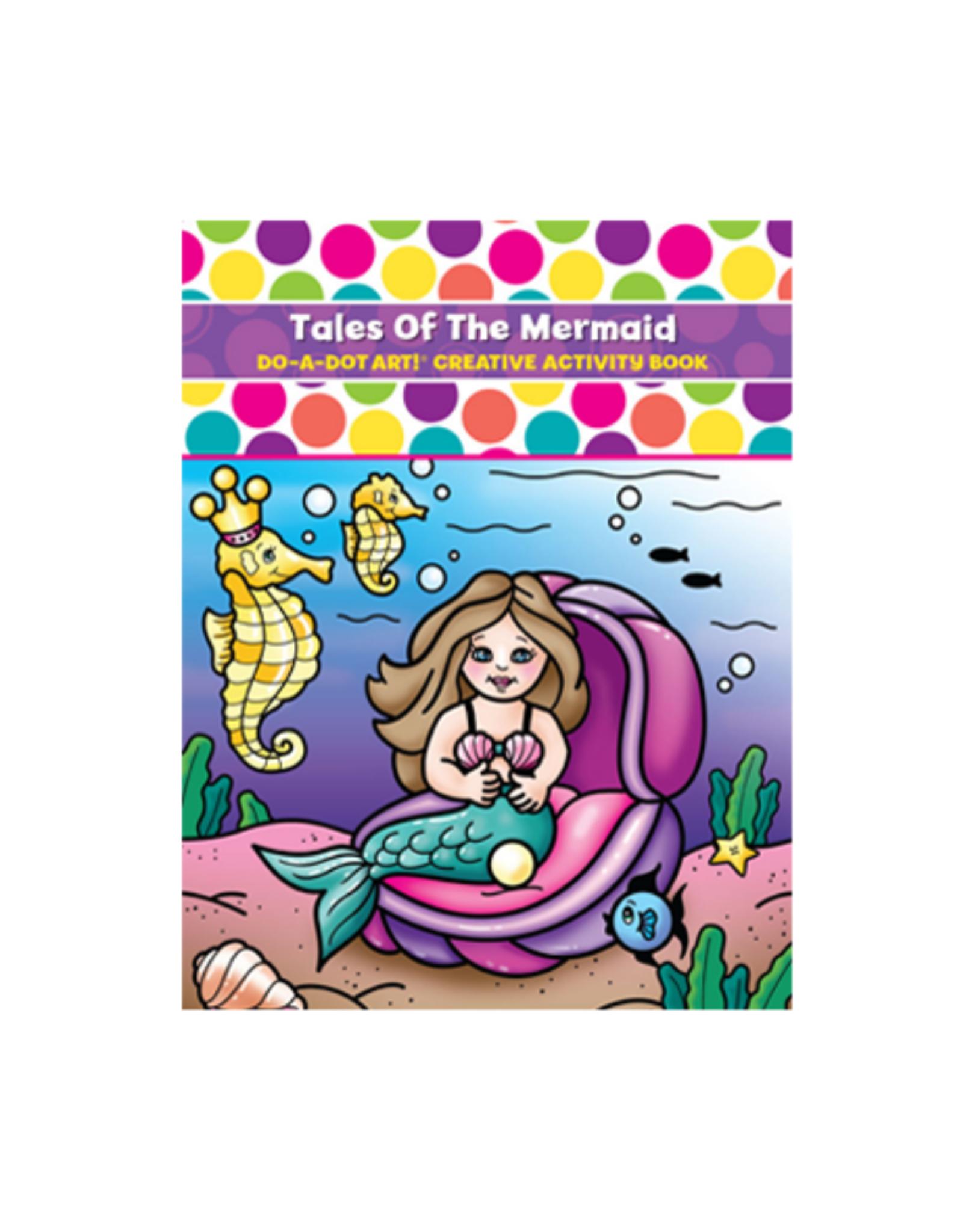 Do A Dot Art Do-A-Dot Book - Tales of the Mermaid