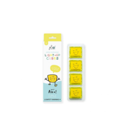 Glo Pals Glo Pals - Alex 4pk Yellow