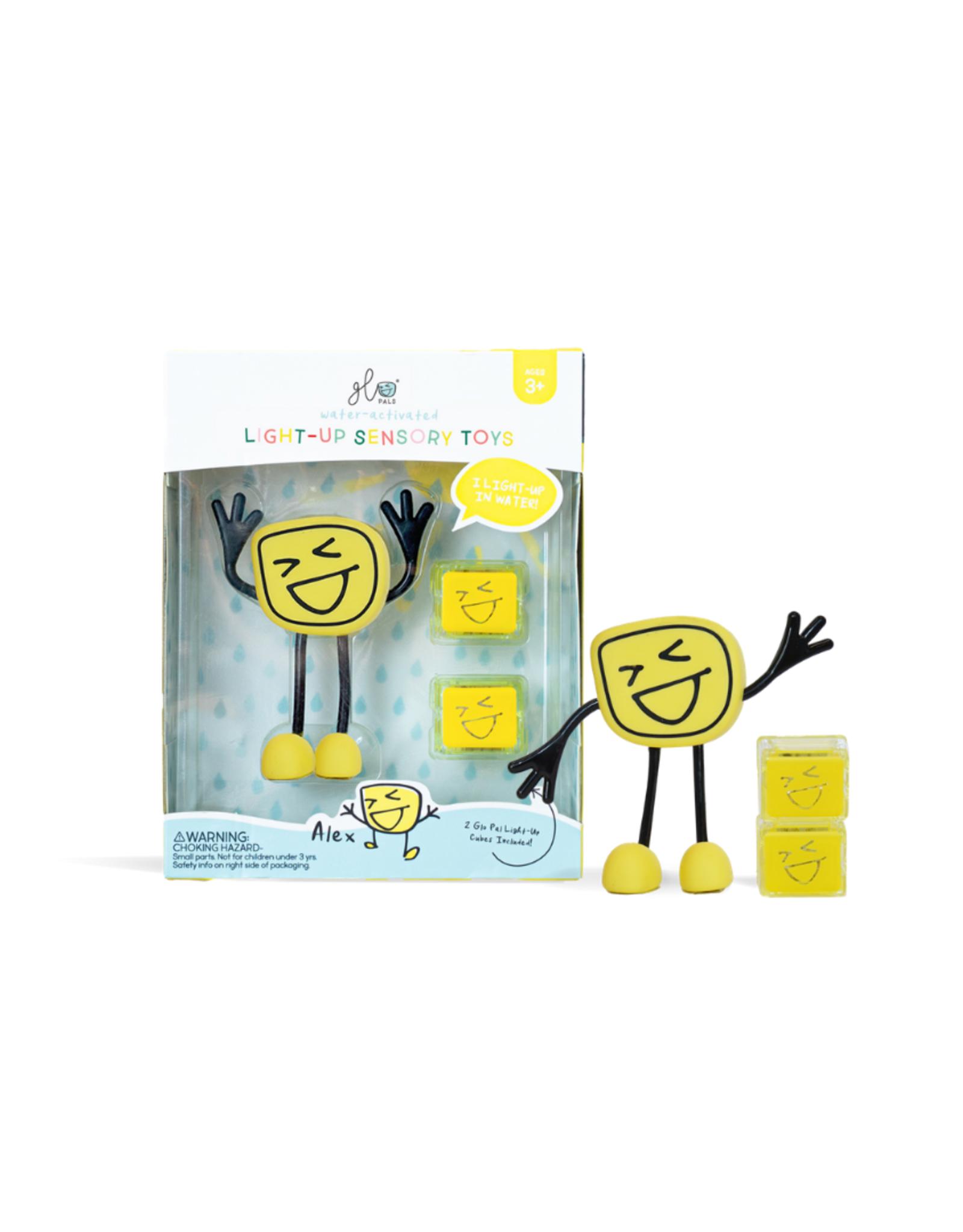 Glo Pals Glo Pals - Alex + 2 Light-Up Cubes